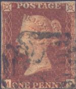 1841 1d Red SG7 Plate 11 'MC'